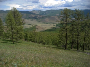 The Darkhid Valley, A View from the Stone Horse Staging Area