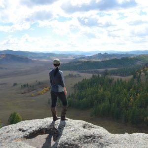 hiking in Gorkhi Terelj National Park