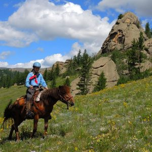 Gorkhi Terelj National Park Horse Riding, Mongolia
