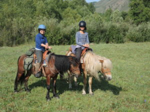 scenery is spectacular, horse trekking Mongolia