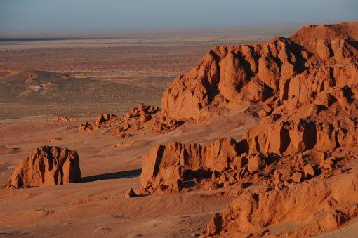 Gobi Desert, Flaming Cliffs, Baynzag