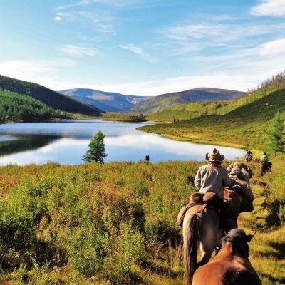 Khentii Mountains Horse Riding