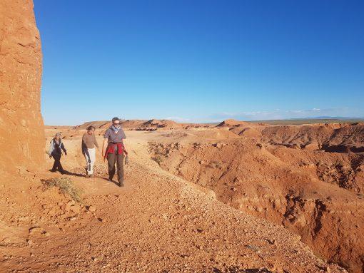 Gobi Desert Tour, Baynzag, Flaming Cliffs