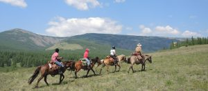 Experiences by Riding Guests in Mongolia, The Blue Skies areVast and Endless, Stone Horse Expeditions