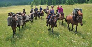 Horse Riding Vacation in Mongolia. Stone Horse Expeditions